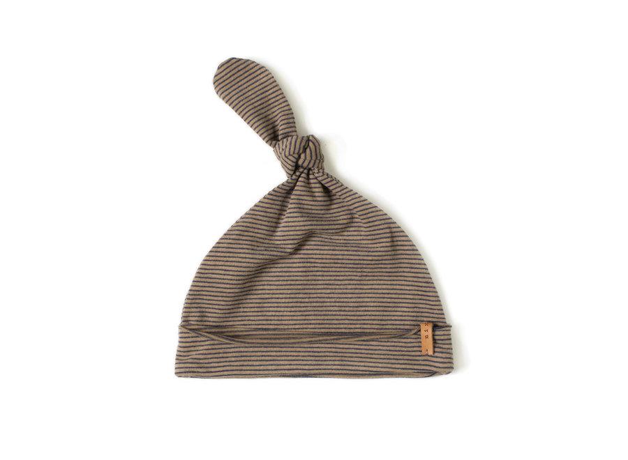 Newbie hat Olive stripe