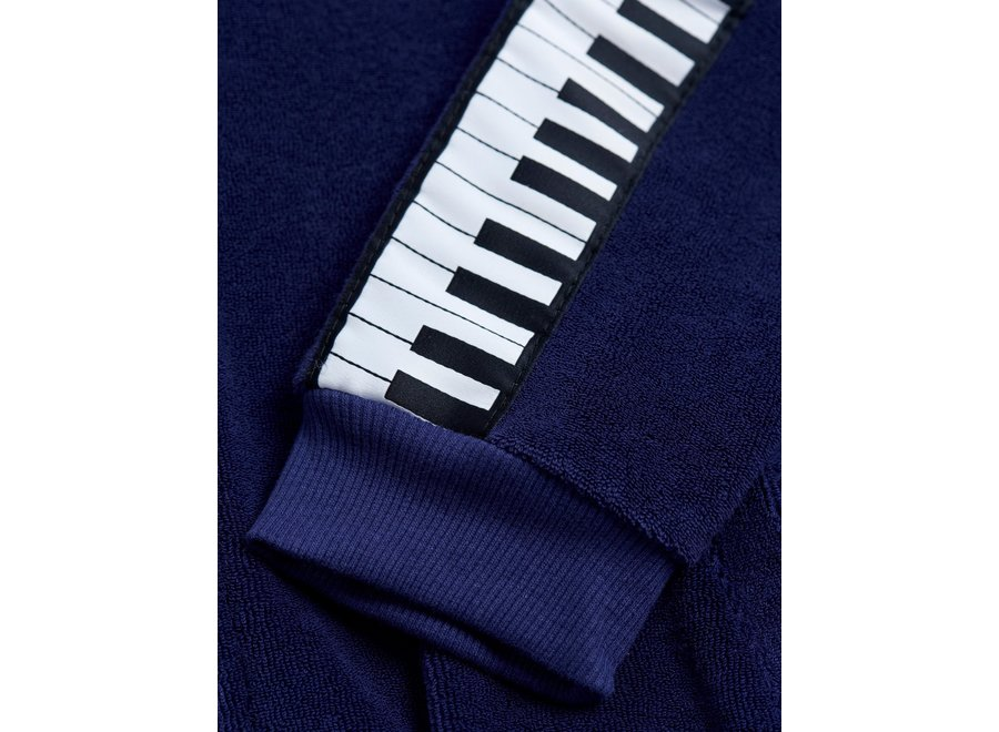 Piano terry jacket