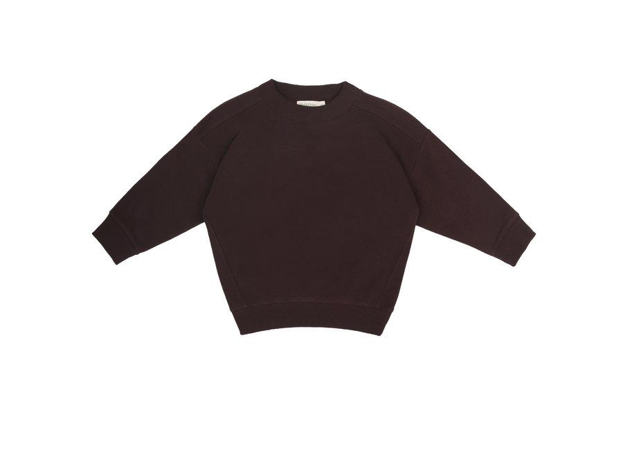 Oversized sweater Cacao nib