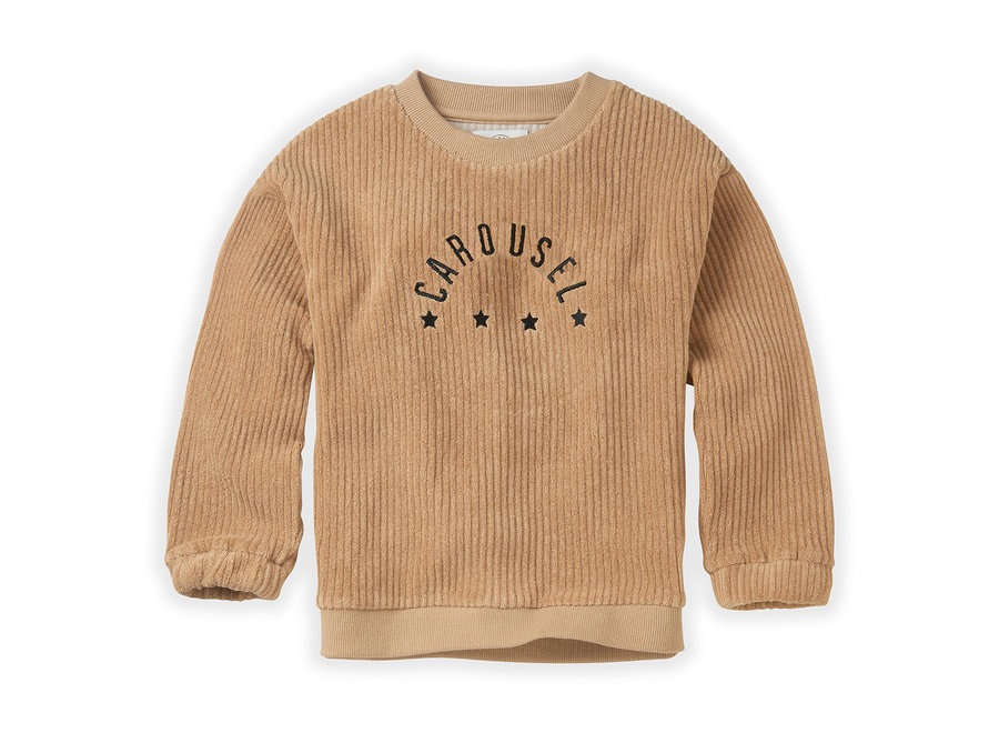 Sweatshirt Terry Carousel