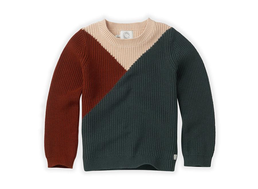 Sweater Colourblock