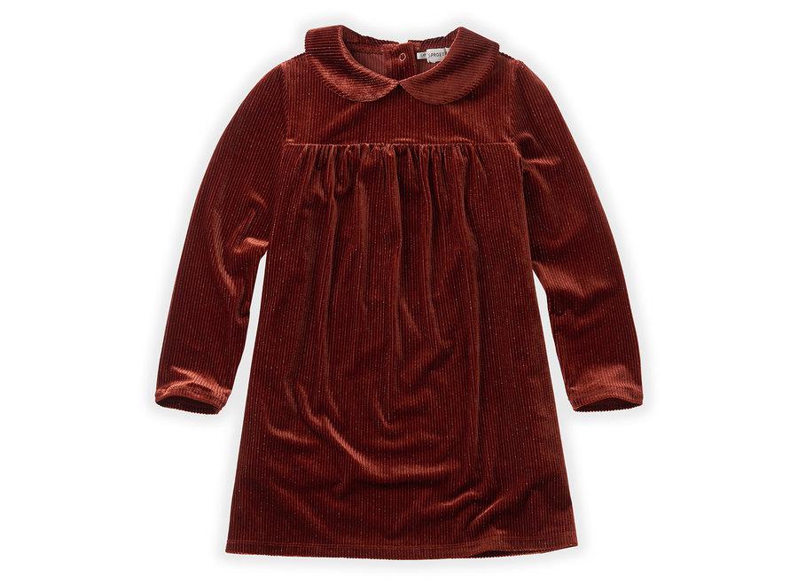 Dress Velvet Rib