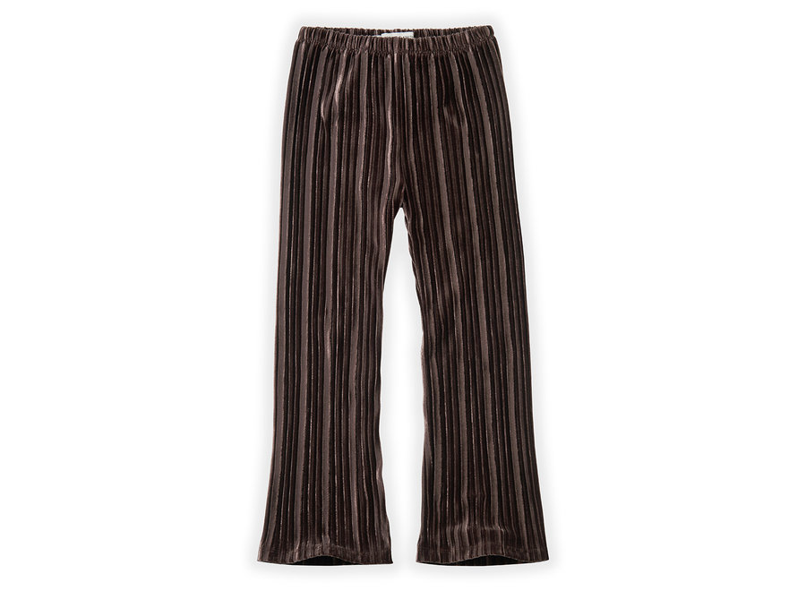 Pants Velvet Pleats