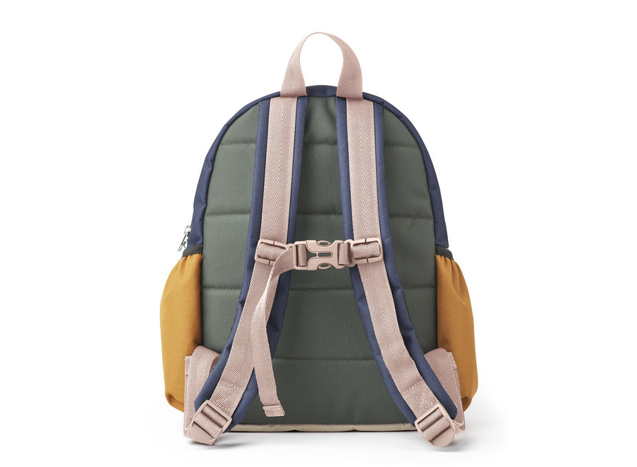 Liewood Wally school back pack Rose multi mix