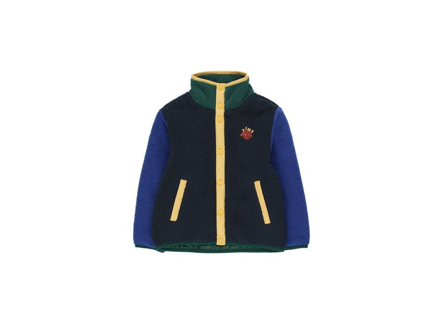 Color block polar jacket