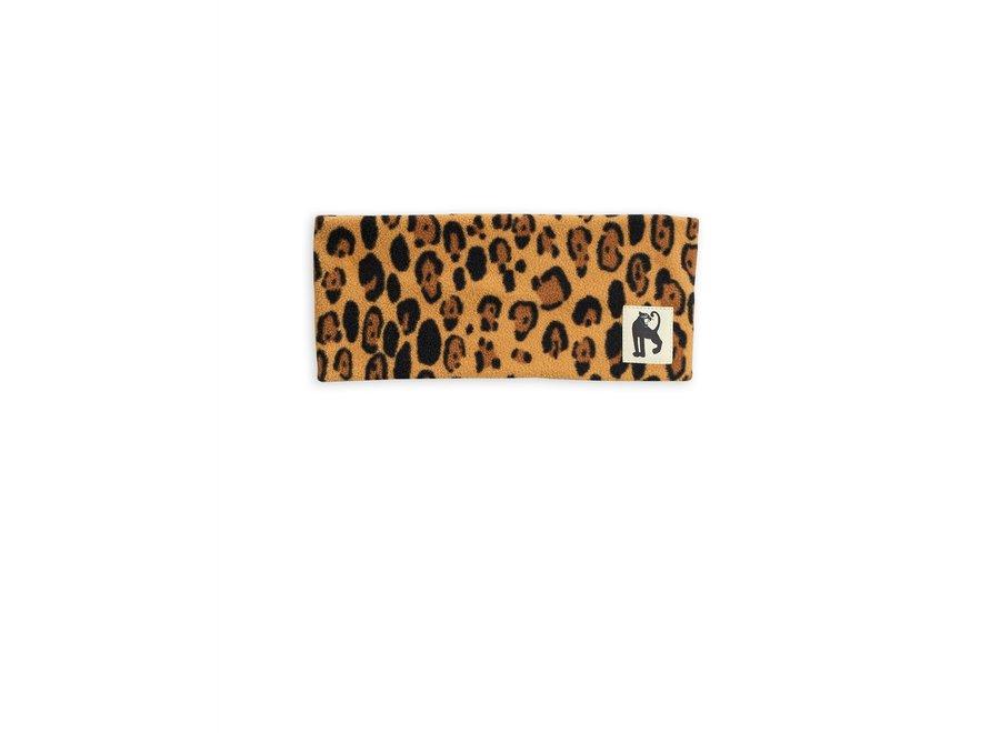 Fleece tube leopard