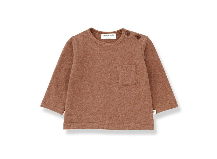 Aneto T-shirt toffee