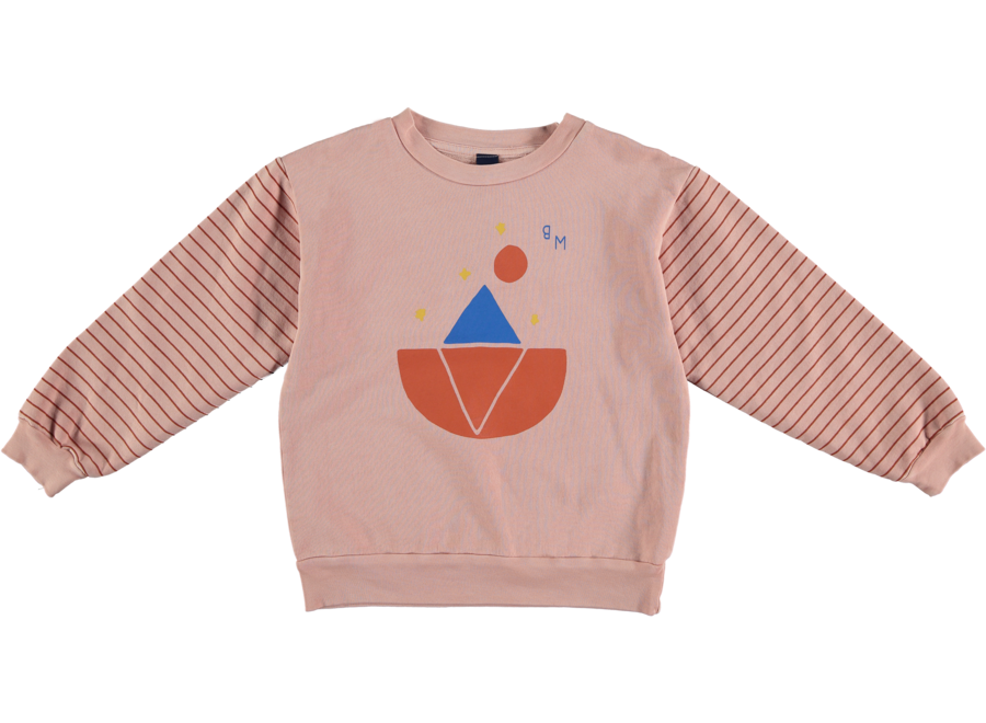 Sweatshirt Iceberg Night tan rose