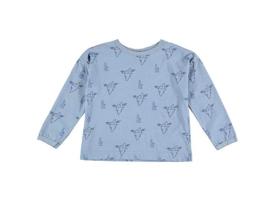 T-shirt Big Icebergs arctic blue