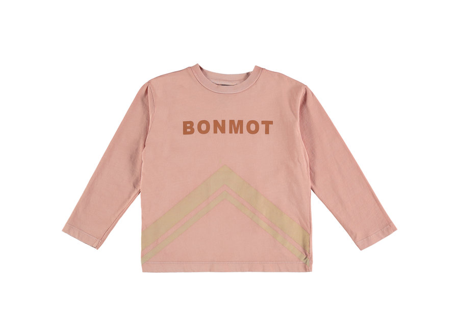 T-shirt Mountains tan rose