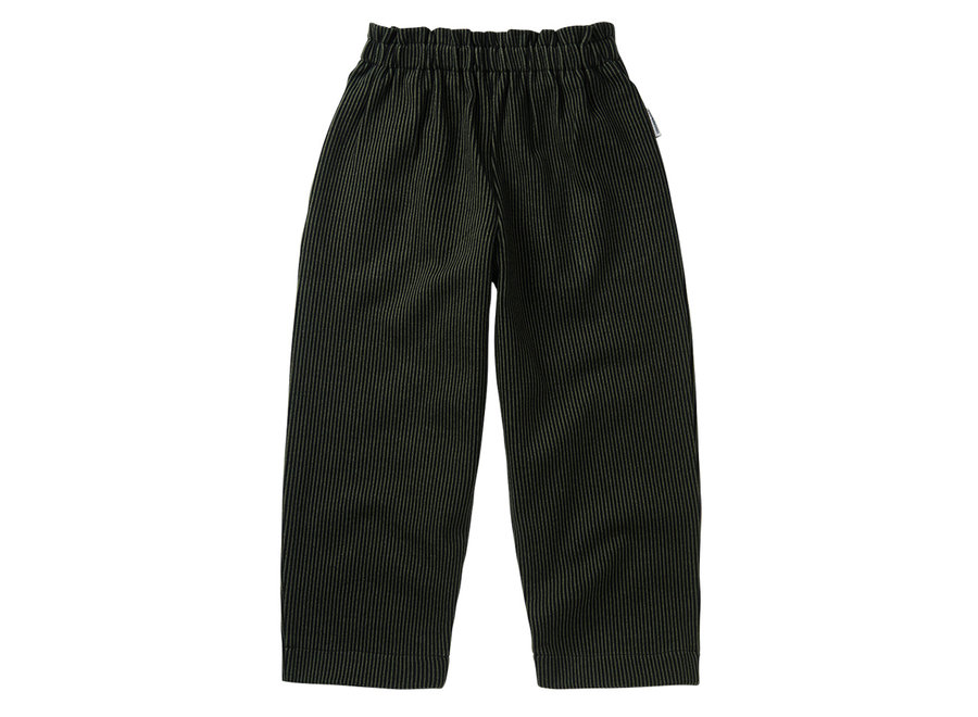 Jaquard Trouser Forest Night