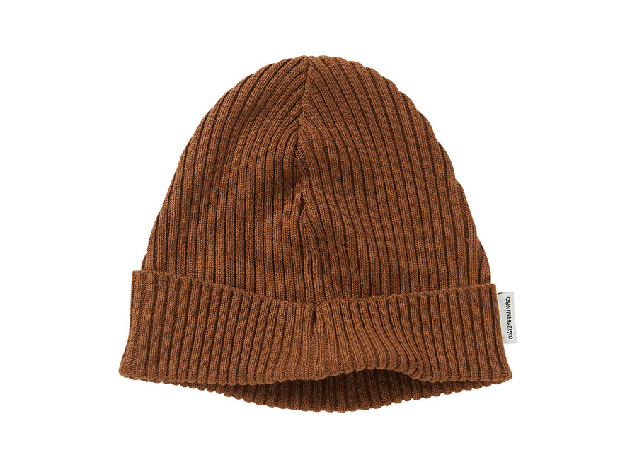 Soft Knit Beanie Pecan