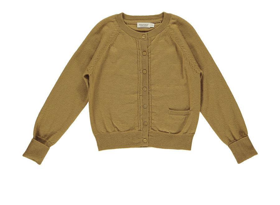 Tillie Light Cotton Wool Knitwear Amber