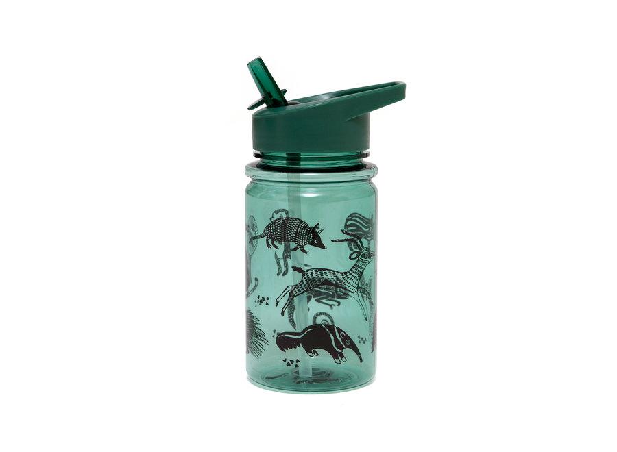 Drinking bottle black animals salie