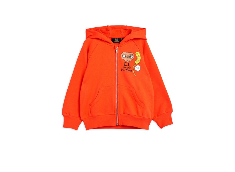 E.T. sp zip hoodie