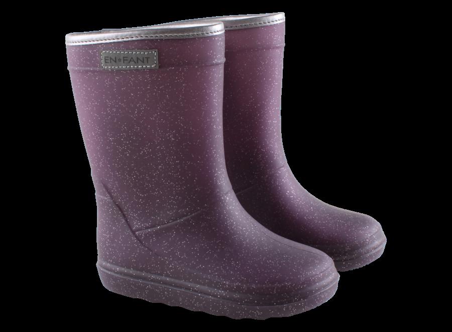 Enfant Thermoboots Metallic purple
