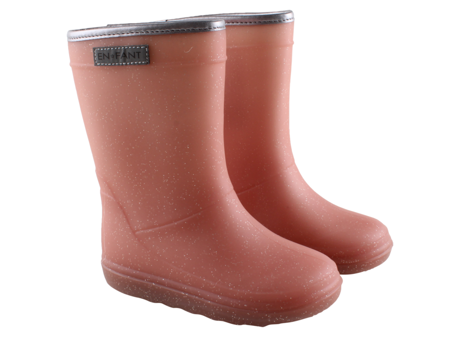 Enfant Thermoboots Metallic Rose zonder glitter rand