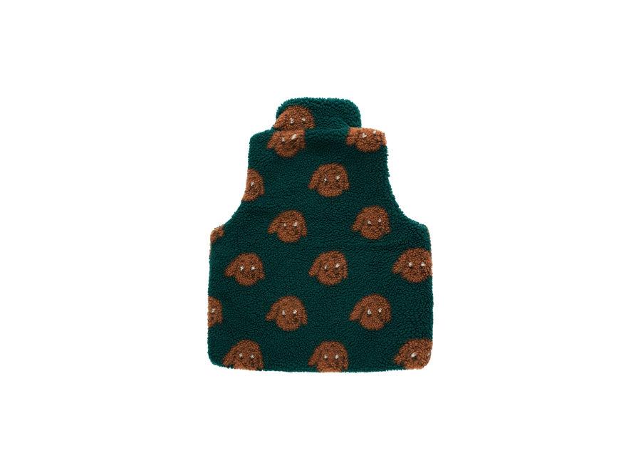 Tny dog sherpa vest