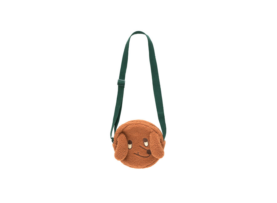 Tiny dog sherpa bag