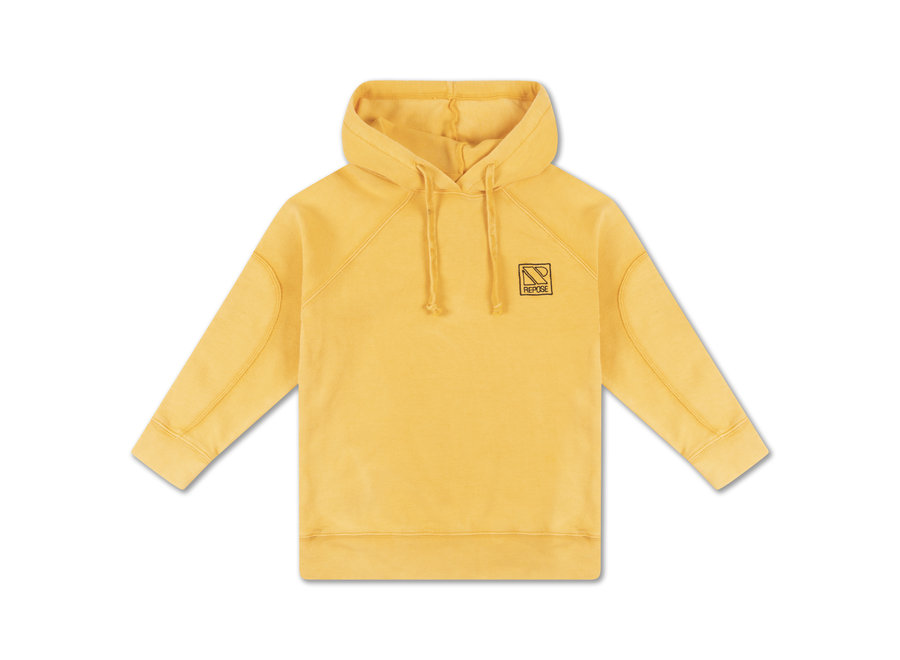 Hoodie warm marigold
