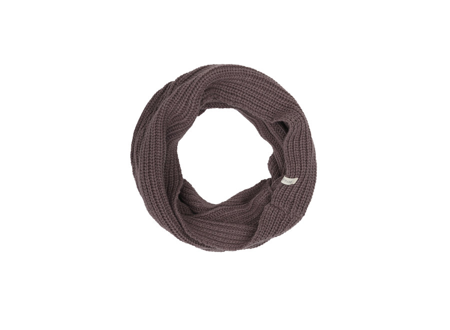 Cashmere blend infinity scarf Dried Lavender