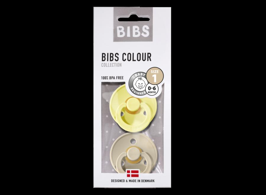 Bibs pacifier set Sunshine/Sand