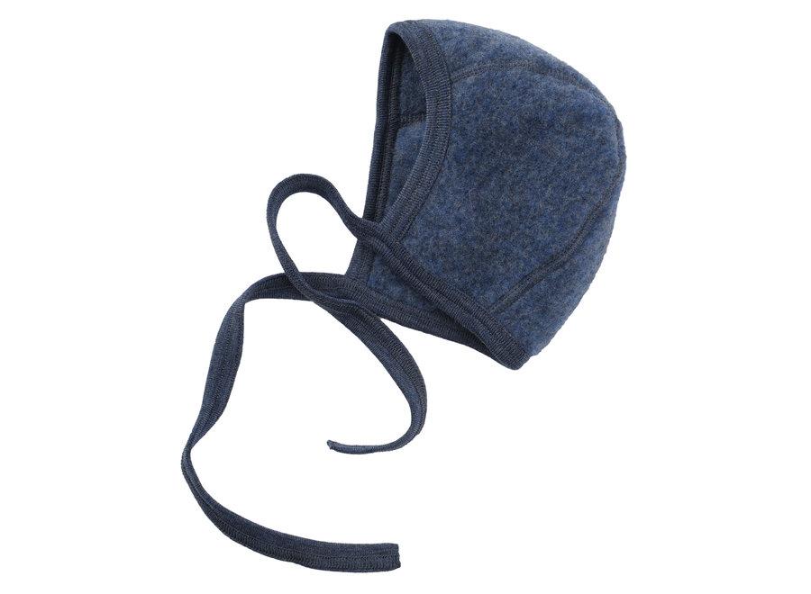 Baby bonnet blue mélange