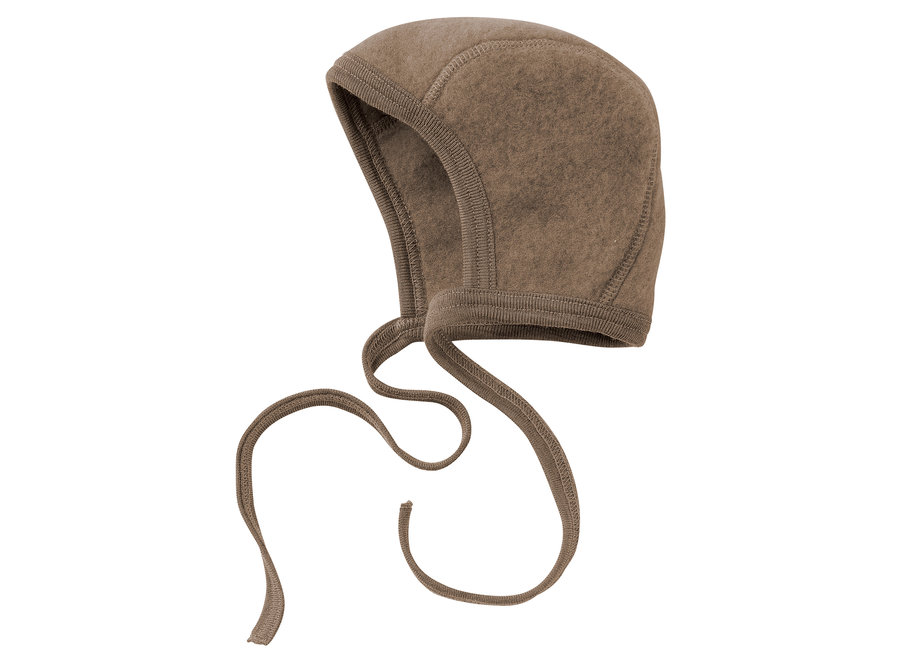 Baby bonnet walnut mélange