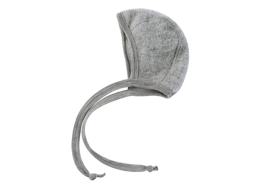 Baby bonnet grey mélange