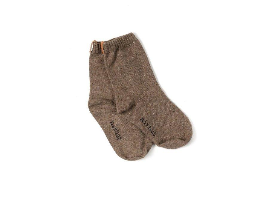Socks brown
