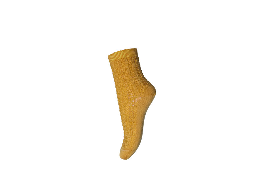 Socks Wool Anna 4255 Golden Spice