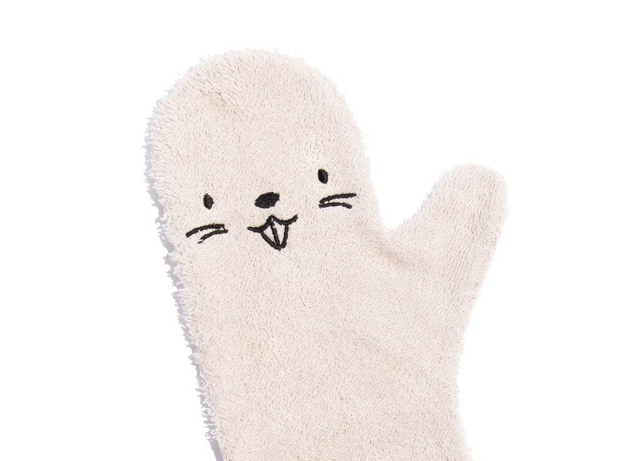 Baby shower glove Pink Beaver