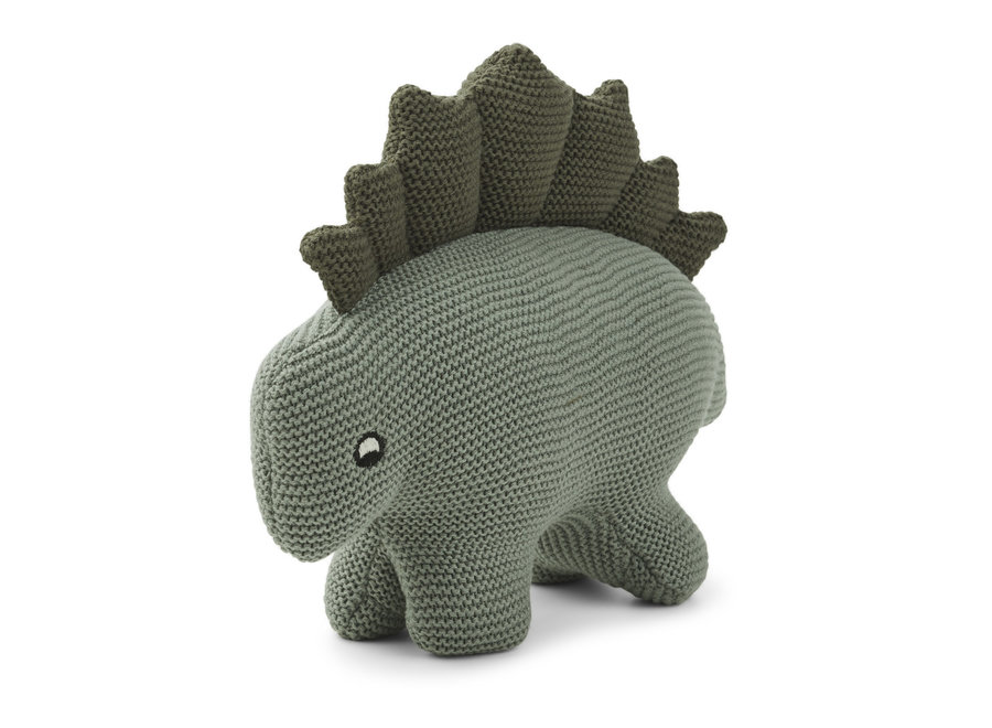 Dino knit teddy Faune Green