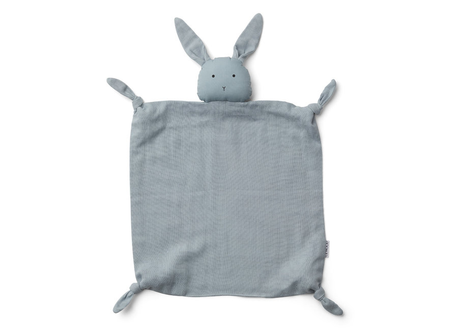 Agnete cuddle cloth Rabbit Sea Blue