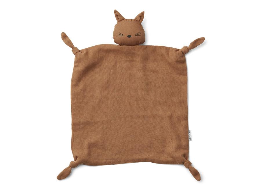 Agnete cuddle cloth Cat Terracotta