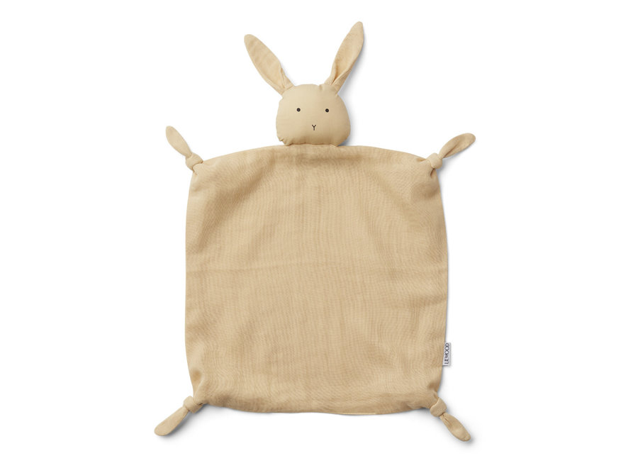 Agnete cuddle cloth Rabbit Smoothie Yellow