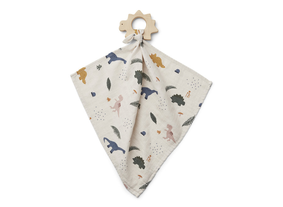 Dines teether cuddle cloth Dino mix
