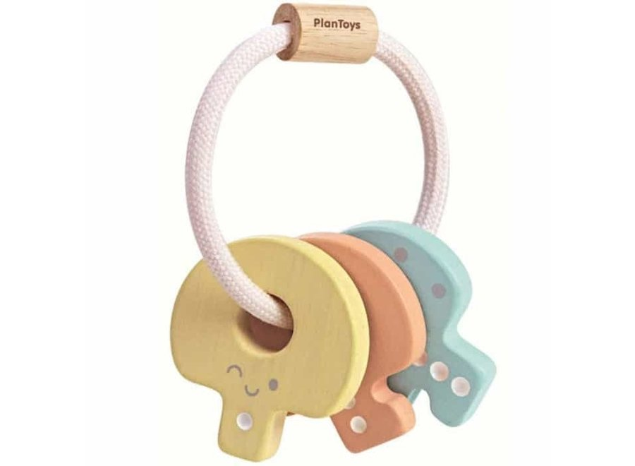 Baby Key Rattle Pastel