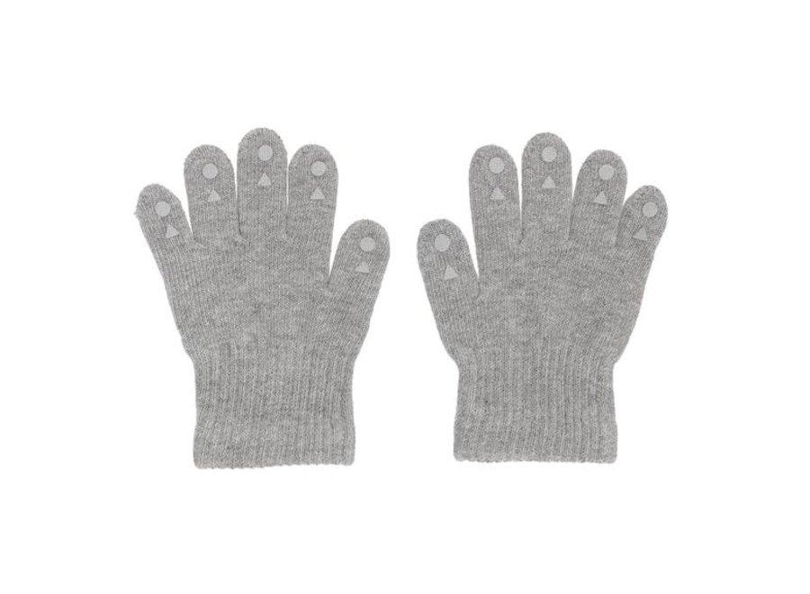 Grip Gloves Grey Melange