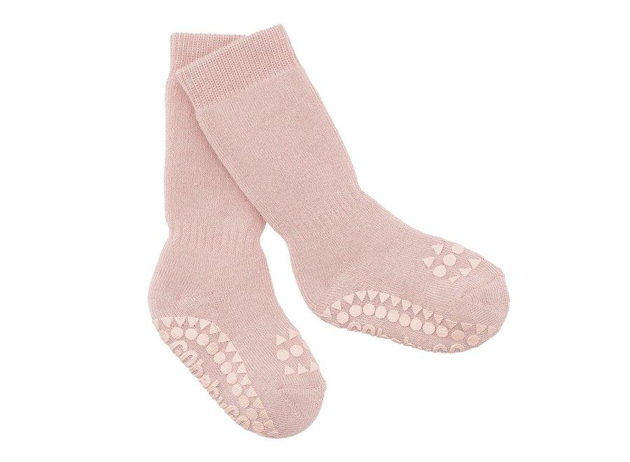 Non Slip Socks Dusty Rose