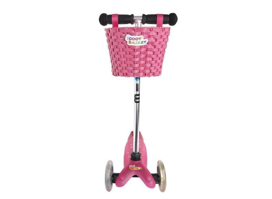 Scoot Basket roze