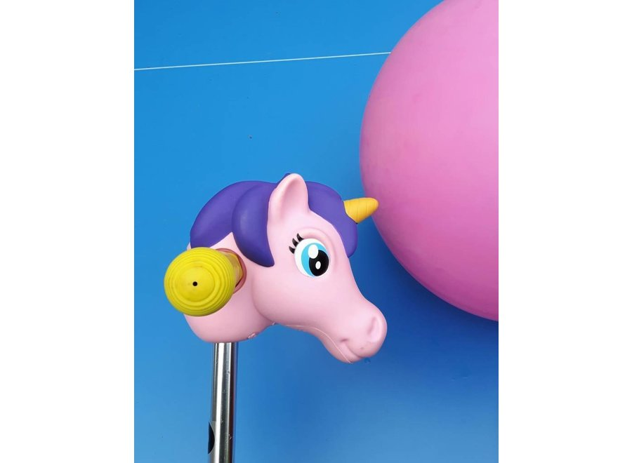 Scootaheadz unicorn roze/paars