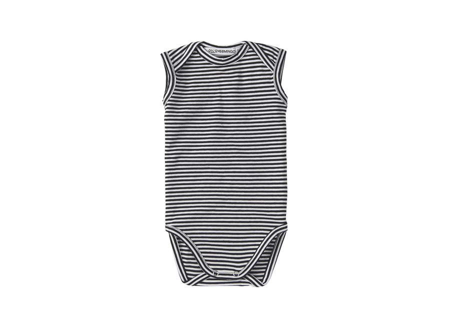 Body sleeveless stripes