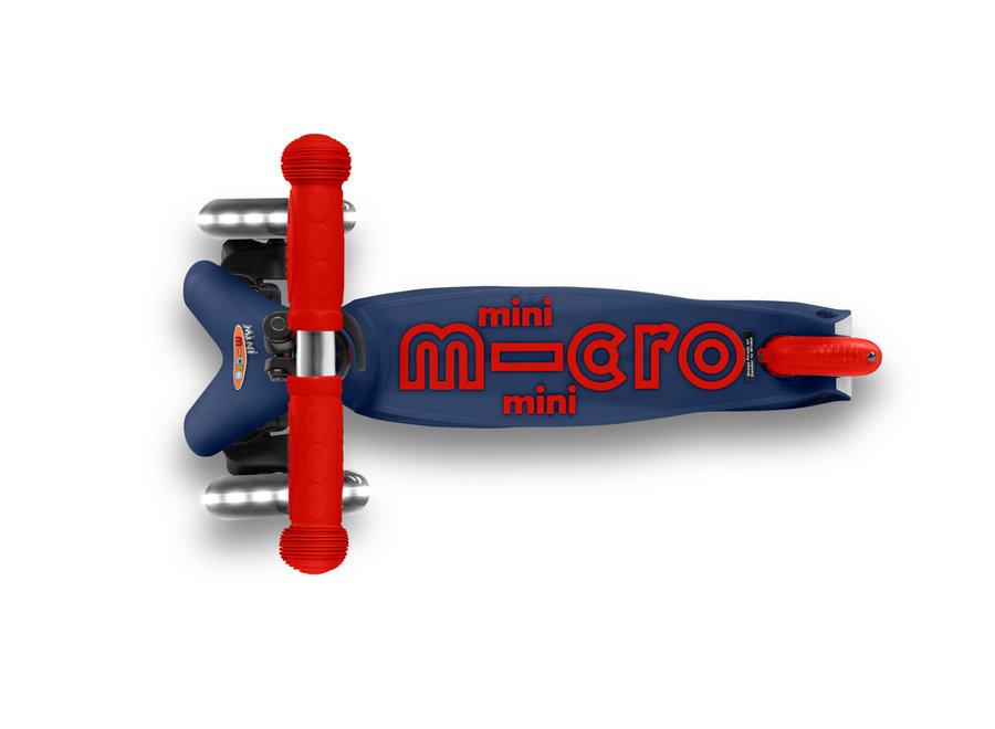 Mini Micro step deluxe marinebaluw/rood LED