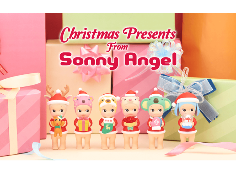 Christmas Presents from Sonny Angel