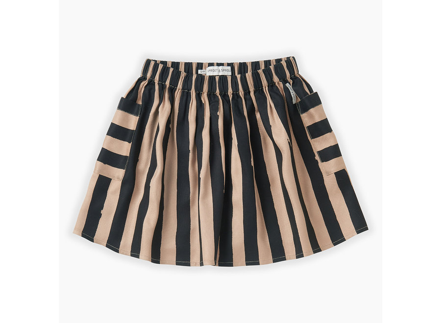 Skirt Painted Stripe