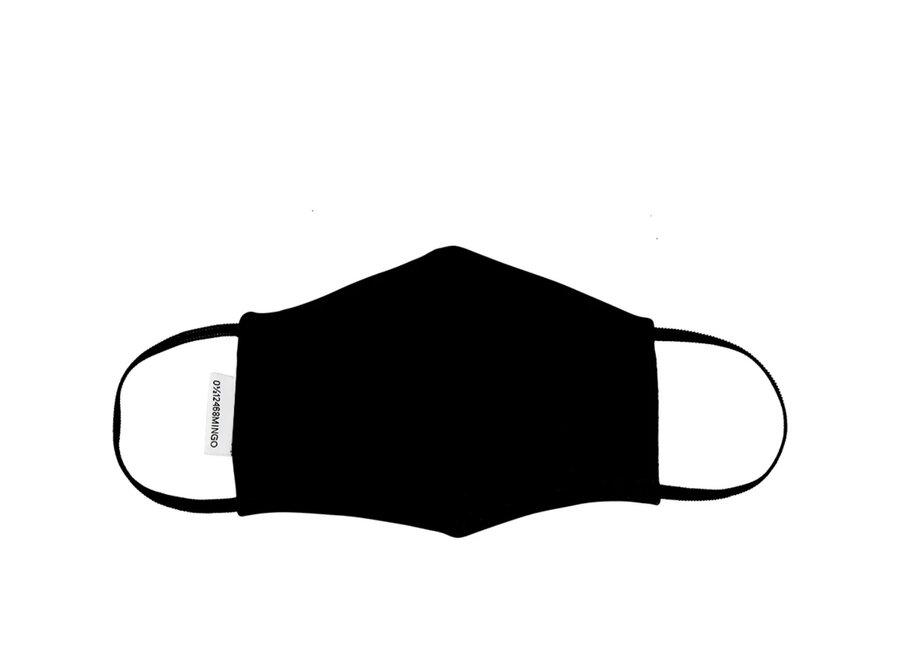 Mingo mouth mask black
