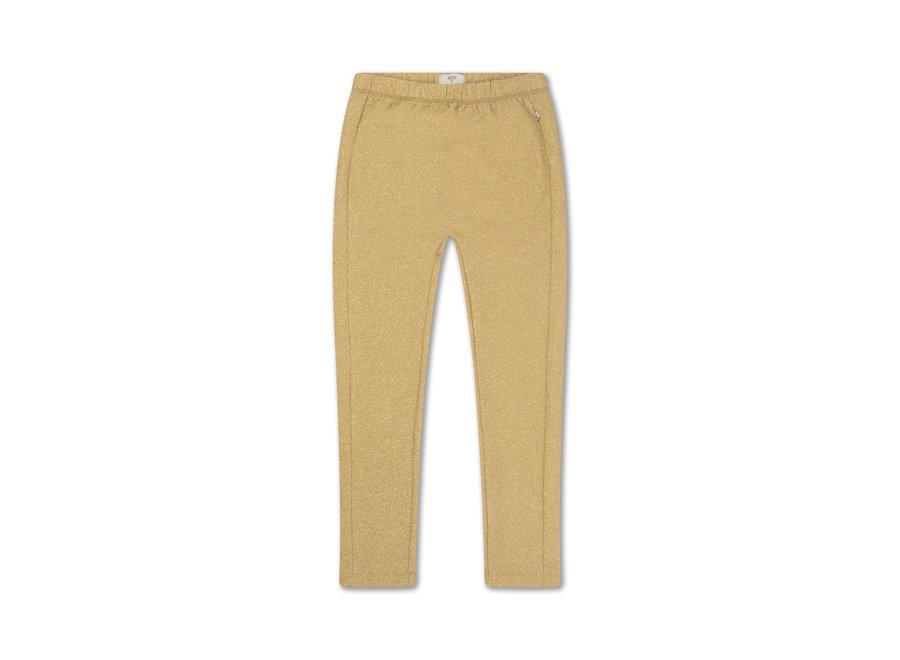 glitter legging golden sparkle
