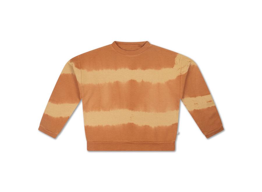 crewneck sweater fudge marble