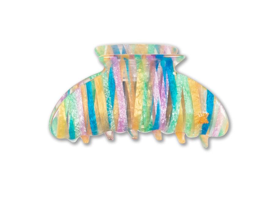 hair clamp big rainbow